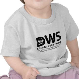 DWS_Disinfect_Wall_Street Camisetas