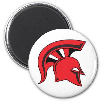 DWS Spartans Round Magnet