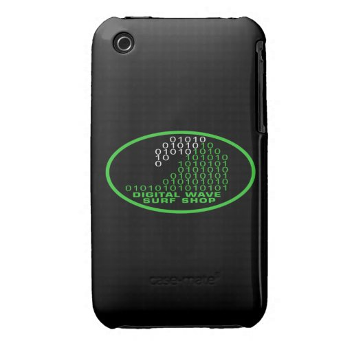 DWSS Logo on Oval Background iPhone 3G Case Case-Mate iPhone 3 Cases