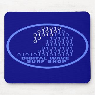 DWSS Logo on Oval Background Mousepad