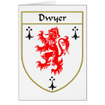 Dwyer Coat of Arms/Family Crest Greeting Cards