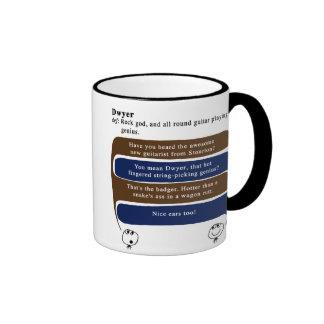 dwyer taza de dos colores