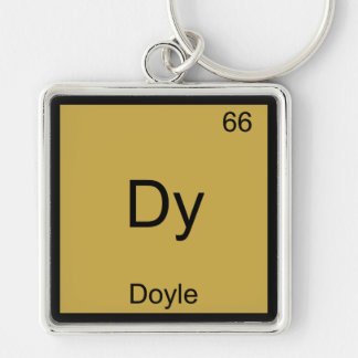 Dy - Doyle Funny Chemistry Element Symbol Tee Keychain
