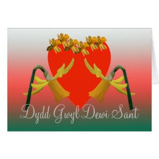 Dydd Gwyl Dewi Sant Card
