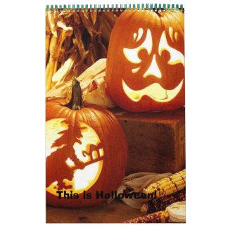 dydl_dydDWC602650, This is Halloween! Calendar