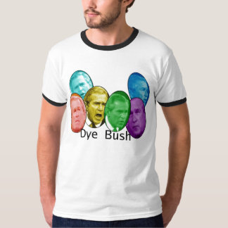dye bush tee shirt