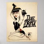 Dye it Black Poster