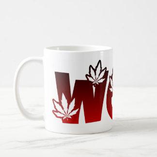 Dye Sublimation Leaf Design Mug 4