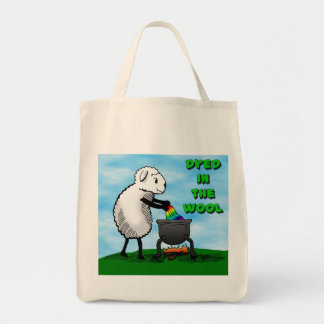 Dyed in the Wool Tote Bag