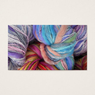 Dyed Knitting Yarn Business Card