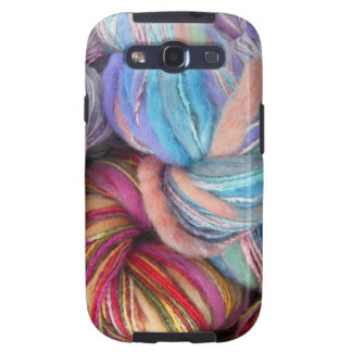 Dyed Knitting Yarn Galaxy S3 Covers