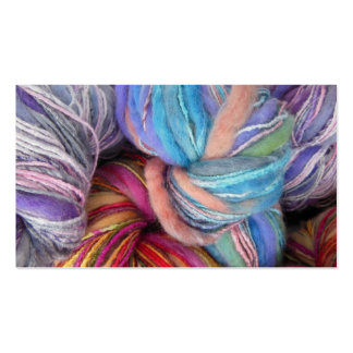 Dyed Knitting Yarn Double-Sided Standard Business Cards (Pack Of 100)