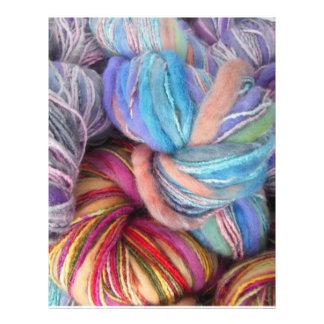 Dyed Knitting Yarn Flyer