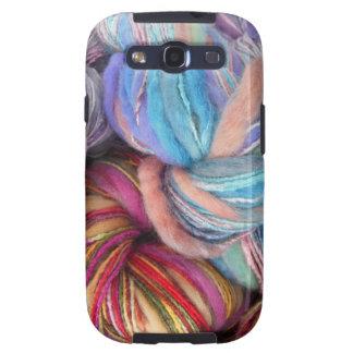 Dyed Knitting Yarn Samsung Galaxy SIII Cover