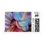 Dyed Knitting Yarn Stamp