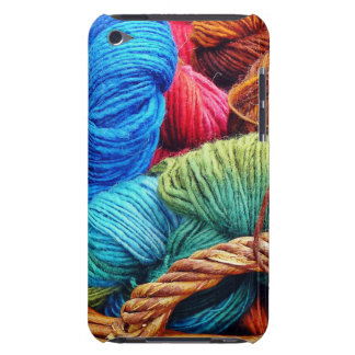Dyed Wool for Knitting Barely There iPod Cover
