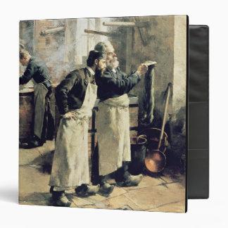 Dyeing workshop in the Gobelins, 19th century Binder