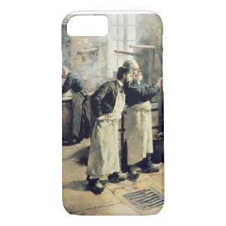Dyeing workshop in the Gobelins, 19th century iPhone 7 Case