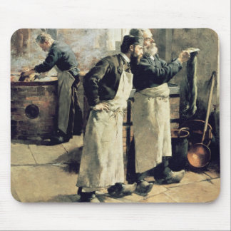 Dyeing workshop in the Gobelins, 19th century Mouse Pad