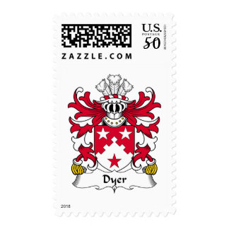 Dyer Family Crest Postage