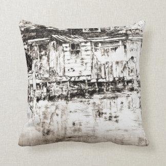 Dyers Longhouse Amsterdam 1889 Pillows
