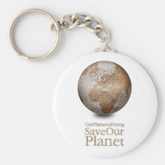 Dying Earth Basic Round Button Keychain