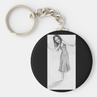 Dying in a doorway keychain