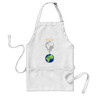 Dying Planet Adult Apron