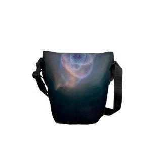 Dying Star: Cat's Eye Nebula Courier Bag