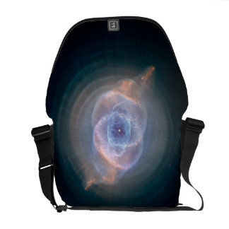 Dying Star: Cat's Eye Nebula Courier Bags