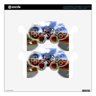 Dying to Ride Decal For PS3 Controller