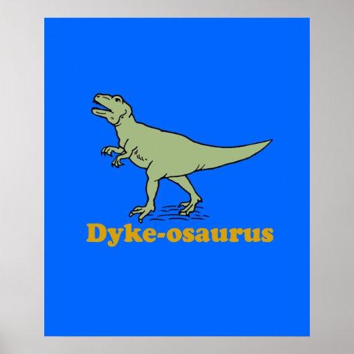 Dyke-osaurus Poster