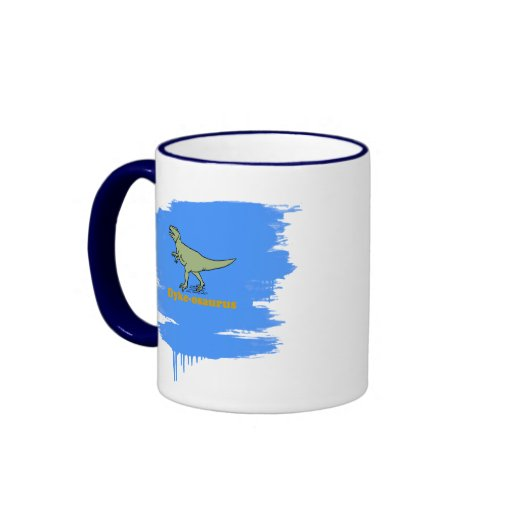 Dyke-osaurus Ringer Coffee Mug