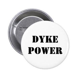 Dyke Power Pinback Button