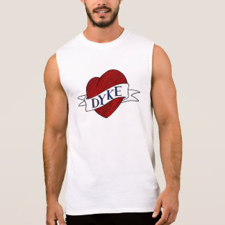 Dyke Shirt - Lesbian Love Heart - Heart Tattoo