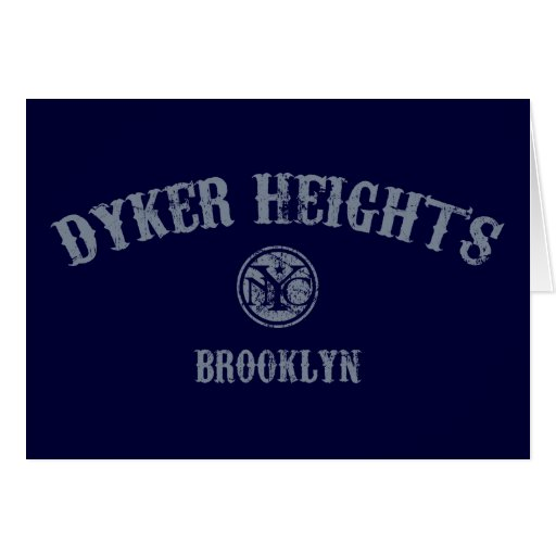 Dyker Heights Greeting Card