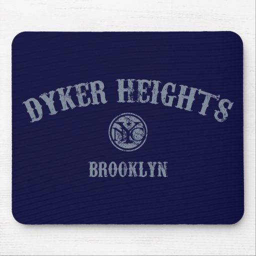 Dyker Heights Mouse Pads