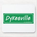 Dykesville Logo Mouse Pad