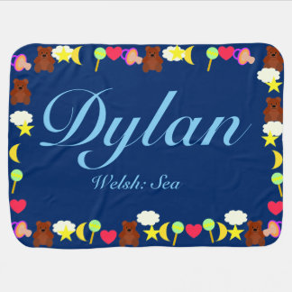 Dylan Baby Blanket Template