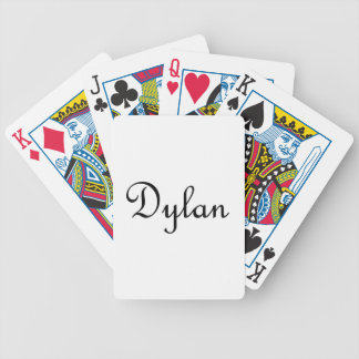 Dylan Bicycle Playing Cards
