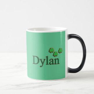 Dylan Irish Name 11 Oz Magic Heat Color-Changing Coffee Mug