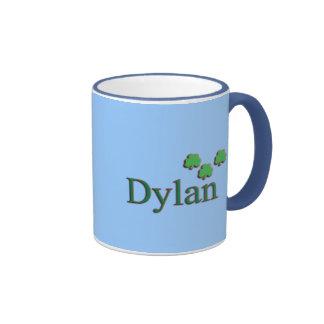 Dylan Irish Name Ringer Coffee Mug
