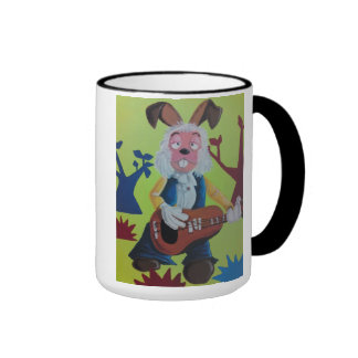 Dylan Magic Roundabout. by Oggy's World Ringer Coffee Mug