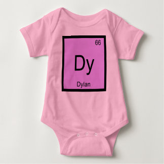 Dylan Name Chemistry Element Periodic Table Tee Shirt