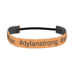 Dylan Strong Head Band - Orange