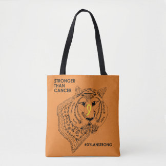 Dylan Strong Two Sided Tote Bag
