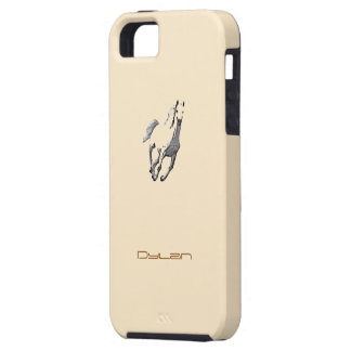 Dylan's iphone 5 Wild Horse brown cover iPhone 5/5S Cover