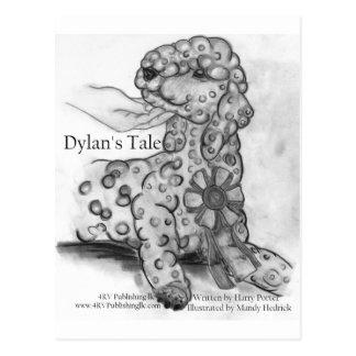 Dylan's Tale ribbon Postcard