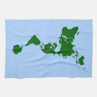 Dymaxion Map Towel