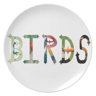 Dymond Speers BIRDS PLATE